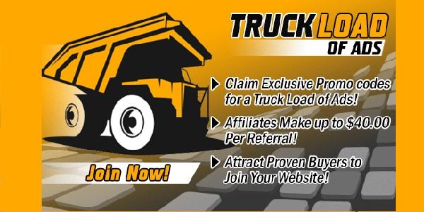 Truckloads of  ads